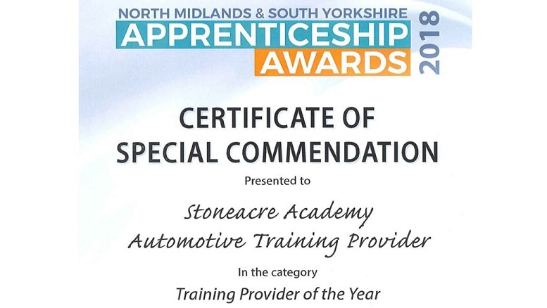 North Midlands & South Yorkshire Apprenticeship Awards 2018